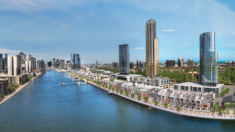 边缘生活:拥有最好郊区和城市的Docklands社区