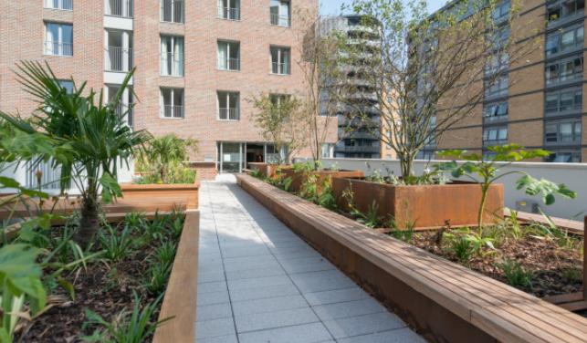"""对租户来说 花园和托儿所是最受欢迎的""""福利""""之一"""