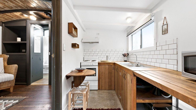 由火车改装而成的小房子成为了Daylesford的极简主义者的梦想