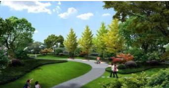 杭州开发区沿江景观公园工程西区公园项目于近日开工