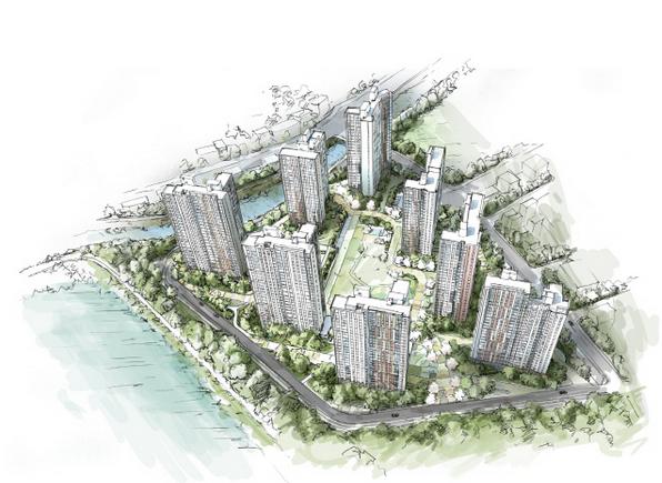 位于庆尚北道龟尾市文城3区城市开发区内的b1-1区将出售文成卡