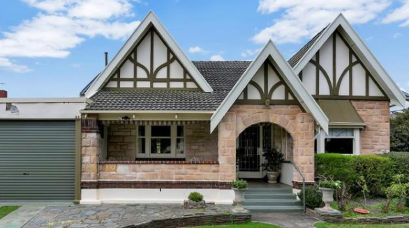 都铎风格的特色住宅已成熟可进行现代化装修
