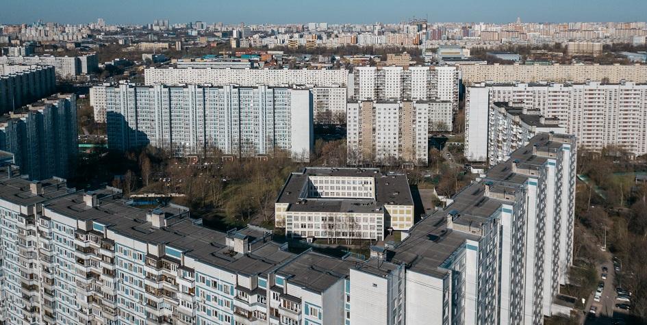 莫斯科的住宅区