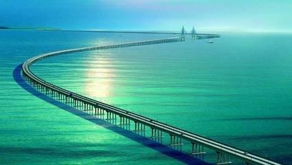 港珠澳大桥将粤港澳大湾区重点城市串珠成链