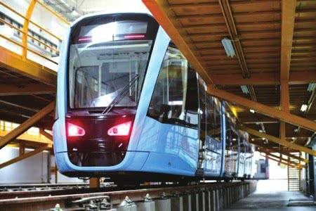 成都地铁有轨电车蓉2号线并有望于今年底正式开通试运营