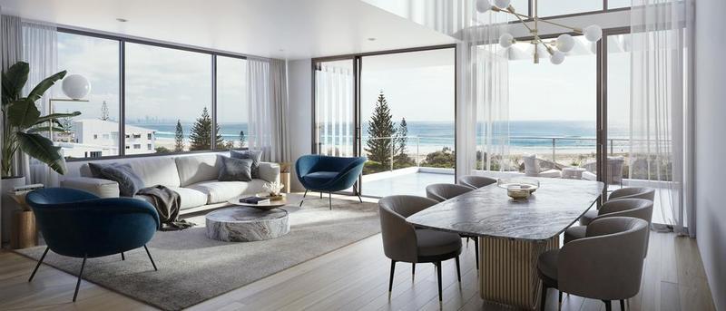 买家有机会在North Kirra的新Southbreak项目中设计自己的公寓