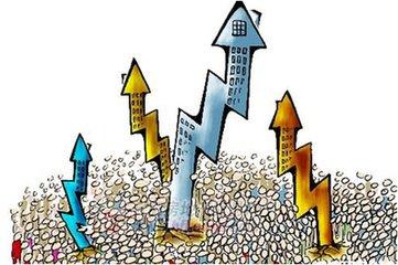 大多数城市的房价从今年第三季度以来已经转跌