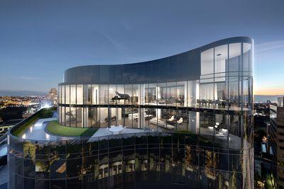 首次参观墨尔本价值4500万美元的顶层公寓