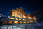 建筑师在安道尔设计了一个令人惊叹的新社区