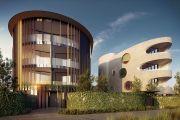 弯曲的布莱顿海滩开发项目重塑了豪华公寓的标准