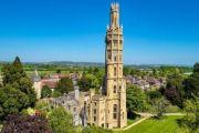 哥特式塔楼建于19世纪30年代