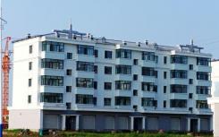 十年内新建的大多数房屋都已完工