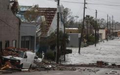 有史以来最糟糕的风暴袭击佛罗里达州潘汉德尔