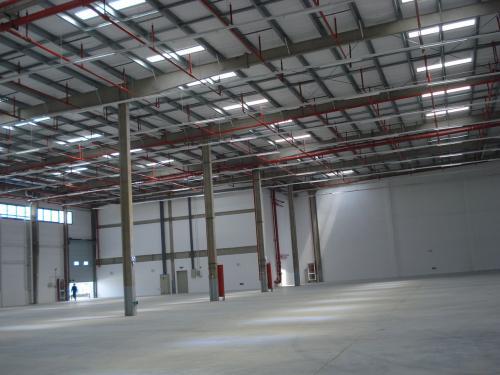 上半年仓库租赁面积增加45%,达到10万平方英尺