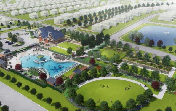 3亿美元的居住社区 在达拉斯以东的路上拥有1000栋新房屋