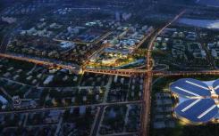 上海虹桥商务区主城区的一宗居住用地 规划建筑面积为8.03万平方米