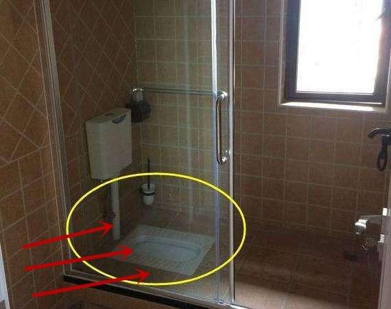 蹲便器安装在淋浴房里真的会实用吗