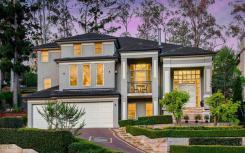 西彭南特山带网球场的六居室豪宅创四年来最高价