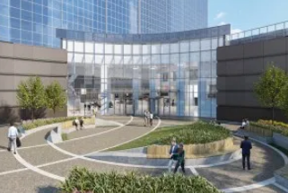 布鲁克菲尔德房地产公司计划为Heritage Plaza进行外观升级