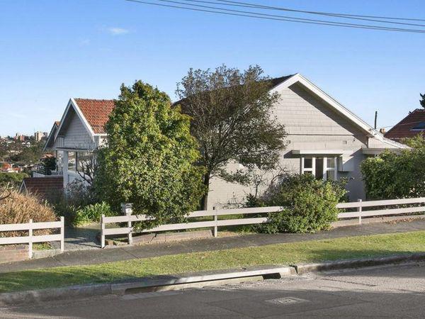 优越位置的Mosman住宅在过去五年中稳步上涨