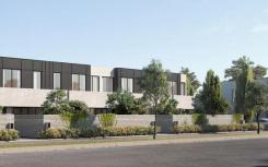 建筑师设计的联排别墅可提高Doveton的档次