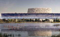 Herzog&de Meuron展示了中国大运河旁的博物馆建筑群