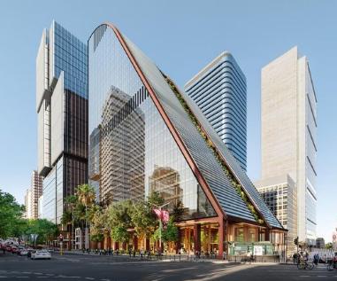 北悉尼地标性MLC大楼斥资4.5亿澳元进行重建