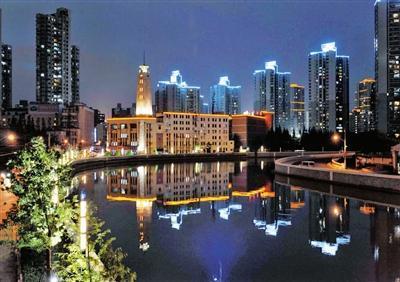 上海市普陀区上一年度的财政收入为110亿元 全市倒数第一