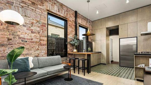 Footscray小屋融合了工业风格和维多利亚时代的魅力
