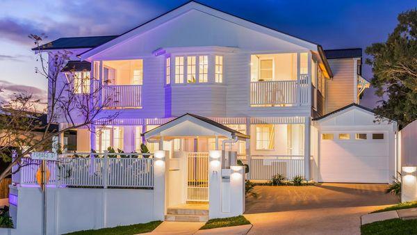 拥有100年历史的昆士兰州住宅进行了大型翻新工程