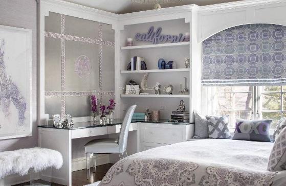 别千篇一律的这样做卧室设计了 换个花样会比床头柜还更实用