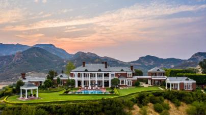 前NHL明星韦恩格雷茨基以2290万美元的价格挂牌南加州房地产