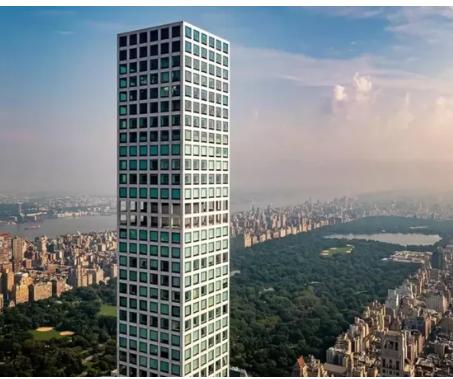 曼哈顿一栋备受争议的超高层住宅楼以惊人的2.29亿美元要价上市